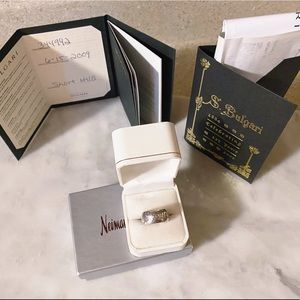Auth. Bvlgari 925 Silver Save The Children Ring